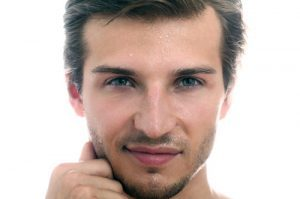 Hair transplant young men in the UK